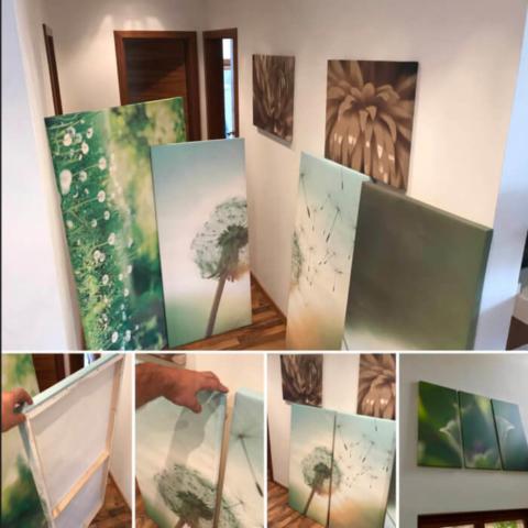 Výroba obrazů na zeď